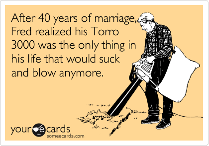 After 40 years of marriage,