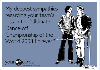 My deepest sympathies