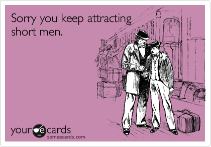 Sorry you keep attracting