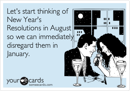 Let's start thinking of