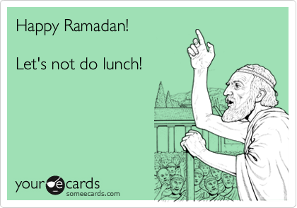 Happy Ramadan!