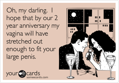 Oh, my darling.  I