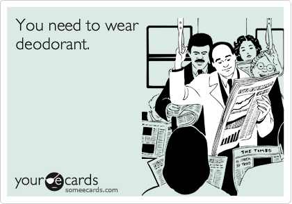 You need to wear