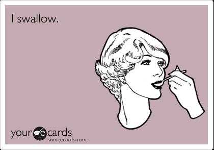 I swallow.
