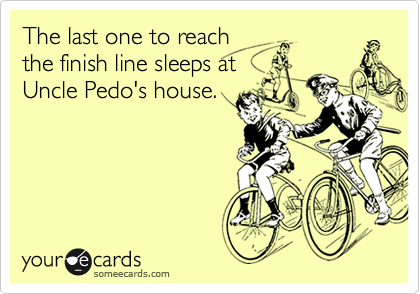 The last one to reach