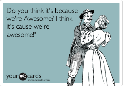 Do you think it's because