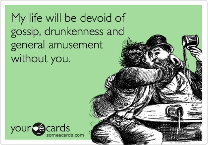 My life will be devoid of