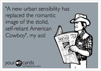 """A new urban sensibility has replaced the romantic