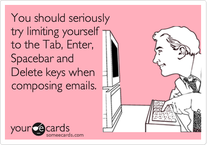 You should seriously 
