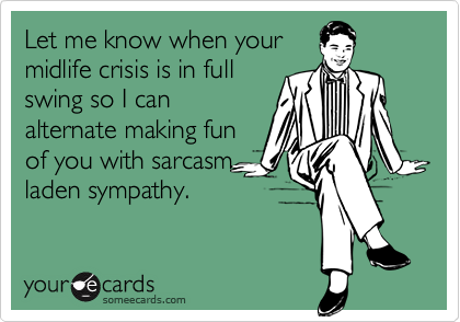 Let me know when your