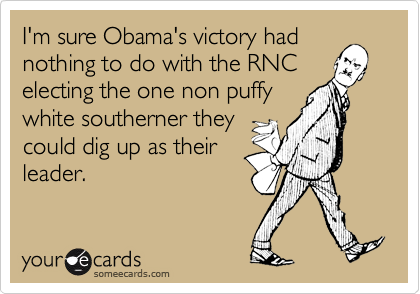 I'm sure Obama's victory had