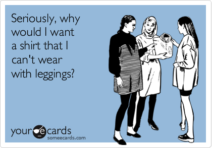Seriously, why 