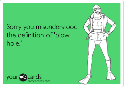 Sorry you misunderstood
