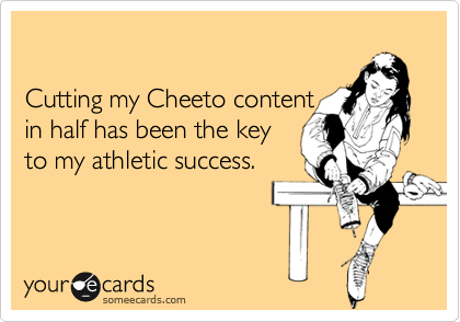 Cutting my Cheeto content