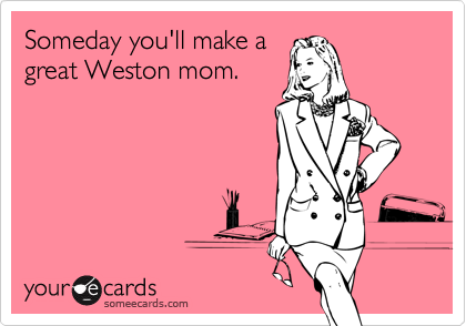Someday you'll make a