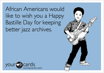 African Americans would