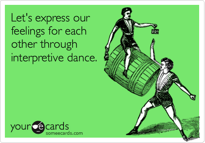 Let's express our