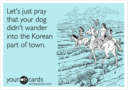 Let's just pray  