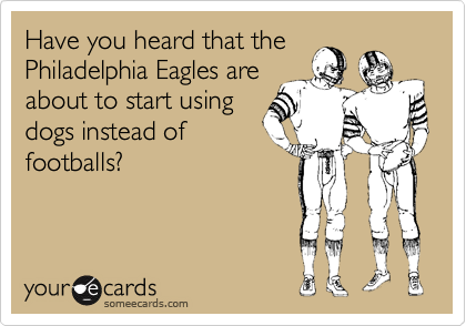 Have you heard that the