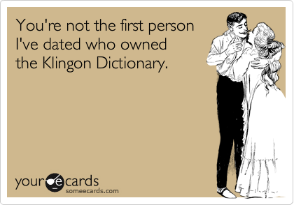 You're not the first person