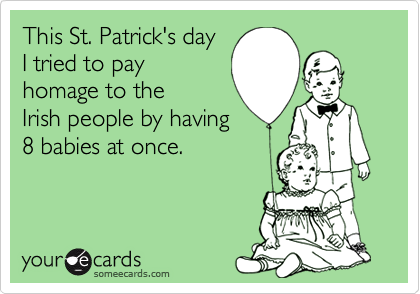 This St. Patrick's day