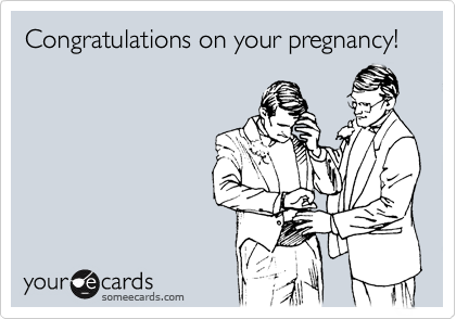 Congratulations on your pregnancy!