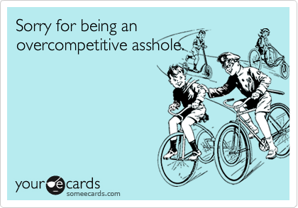Sorry for being an