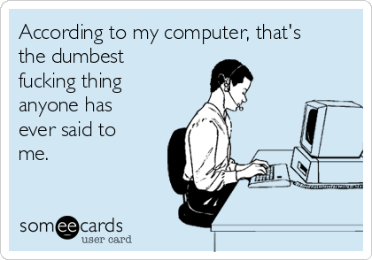 Fucking by computer
