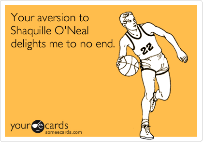 Your aversion to