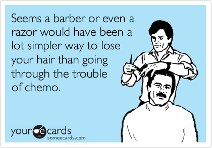 Seems a barber or even a