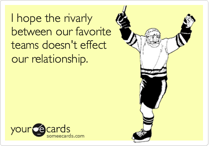 I hope the rivarly