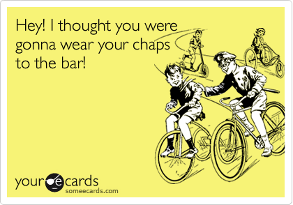 Hey! I thought you were 
