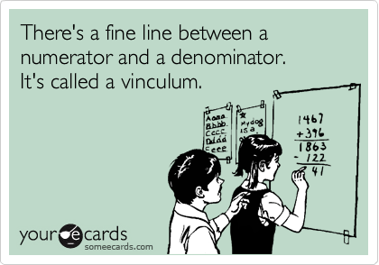 There's a fine line between a