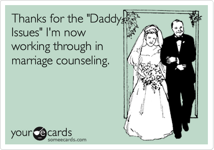 "Thanks for the ""Daddy