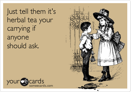 Just tell them it's