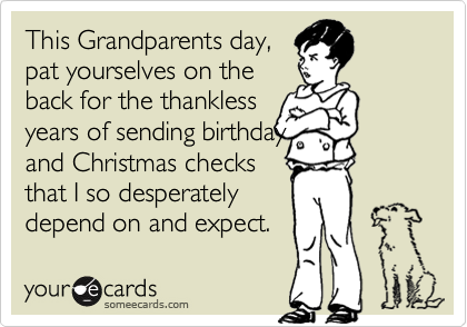 This Grandparents day,