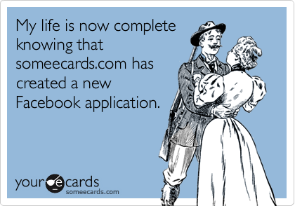 My life is now complete