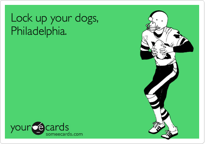 Lock up your dogs,