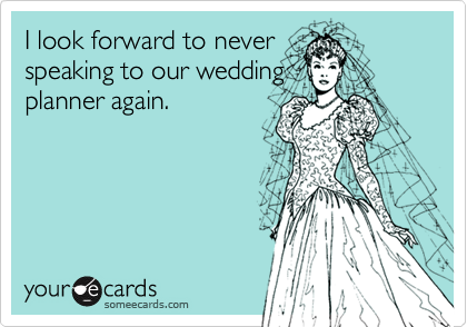I look forward to never