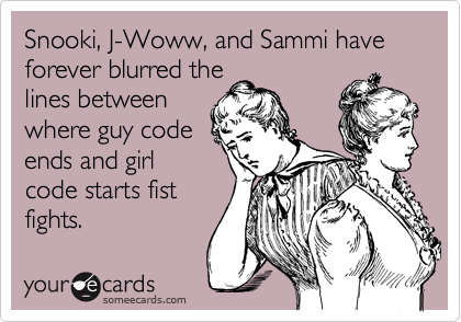 Snooki, J-Woww, and Sammi have forever blurred the