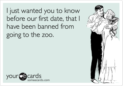 I just wanted you to know