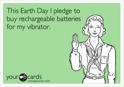 This Earth Day I pledge to