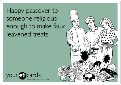 Happy passover to