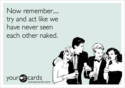 Now remember.....