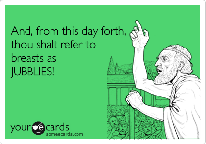 And, from this day forth,