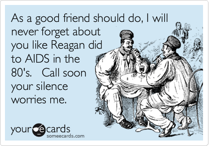 As a good friend should do, I will