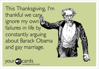 This Thanksgiving, I'm