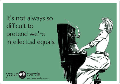 It's not always so