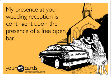 My presence at your