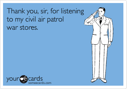 Thank you, sir, for listening